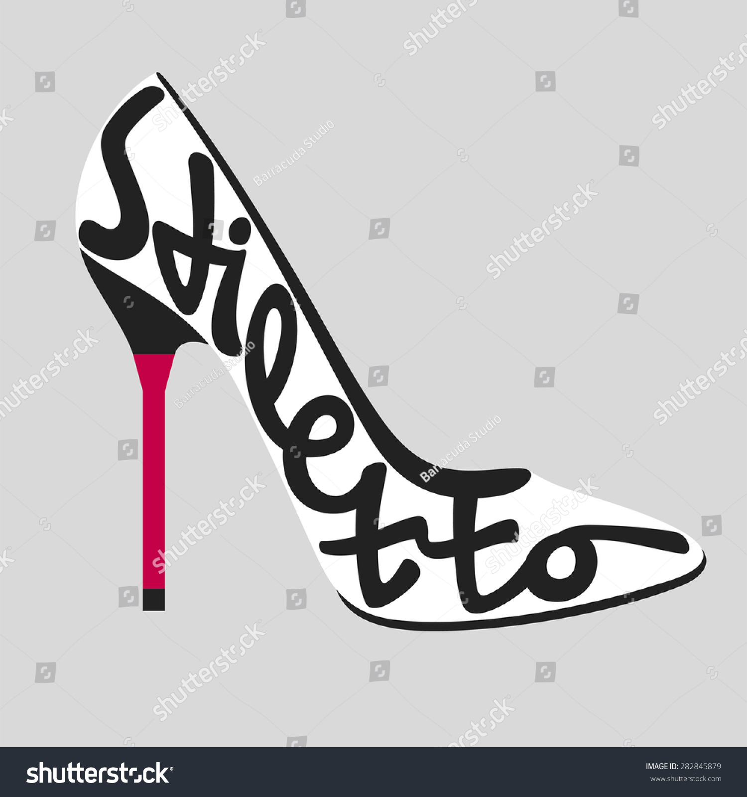 fashion typography shoe typography shoes typography stock vector 282845879 shutterstock