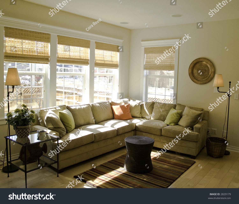 Nice Living Room Stock Photo 2829179 : Shutterstock