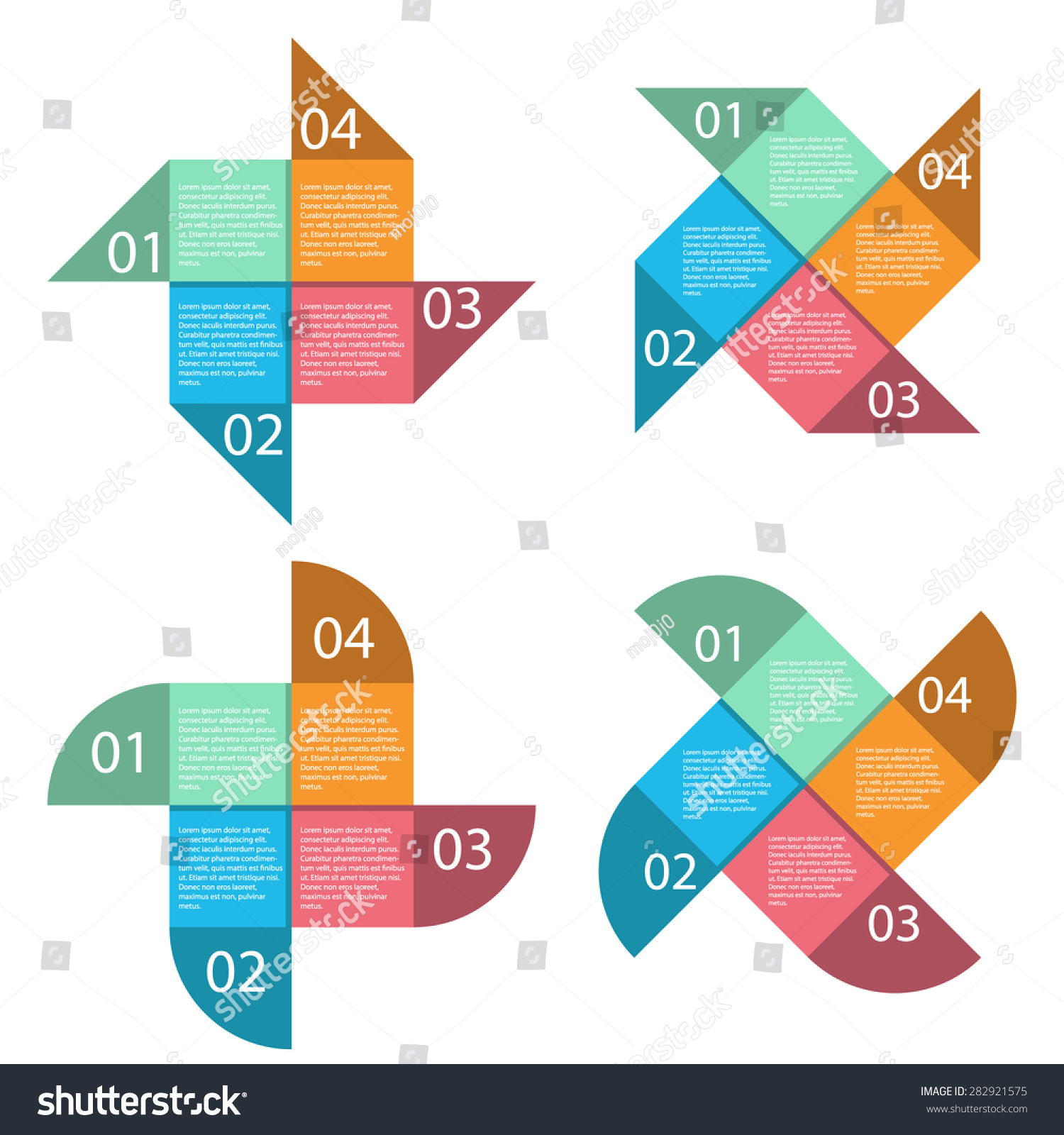 Vector Square Infographics Set Wind Turbine Stock Royalty Diagrams Layout Template For Diagram Energy Business