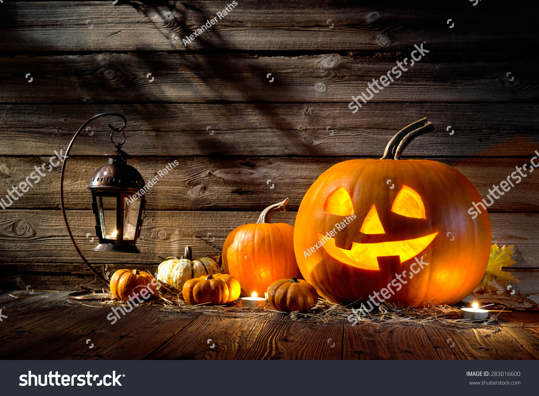 halloween pumpkin head jack lantern on stock photo 283016600