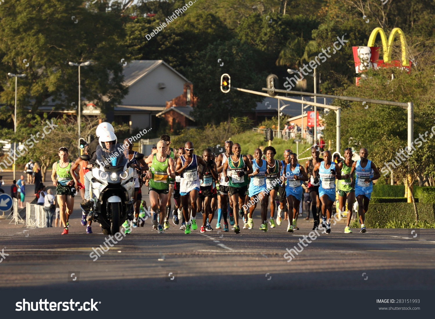 Durban south africa may 31 group stock photo image royalty free durban south africa may 31 group of men run through hillcrest negle Images