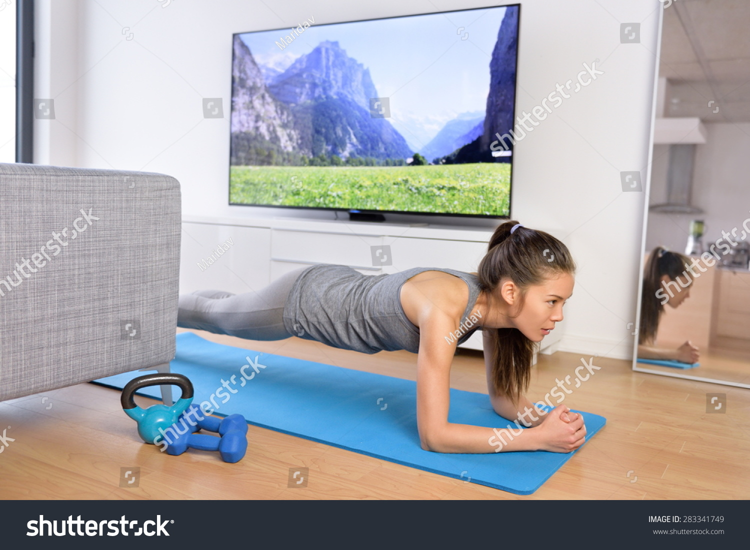 Living Room Fitness Workout