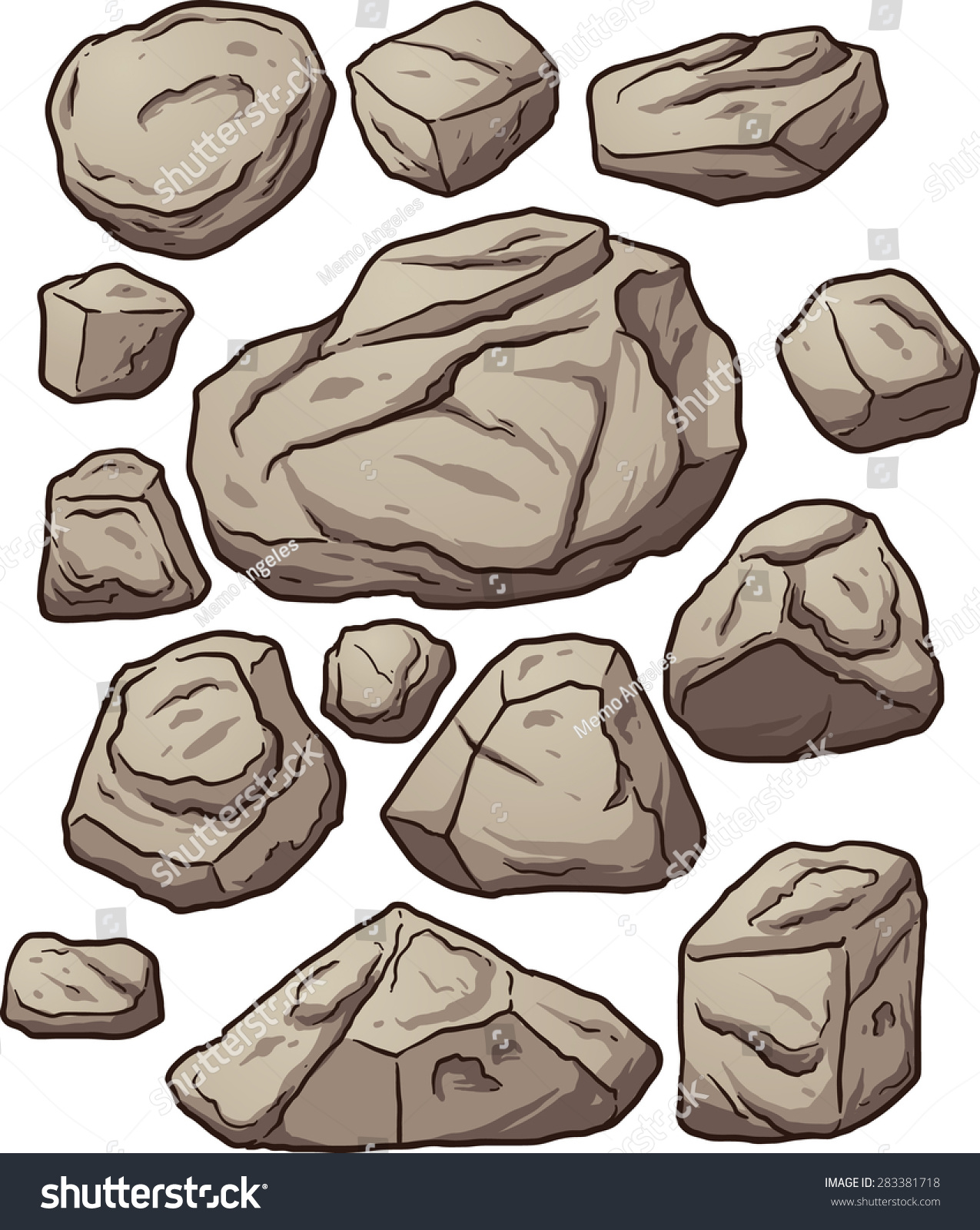 clipart house on rock - photo #42