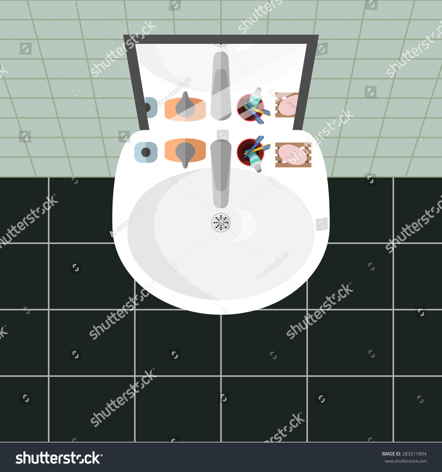 Bathroom sink top view - Cartoon Bathroom Sink And Soap Jpg 1500x1600 Cartoon Bathroom Sink Bath