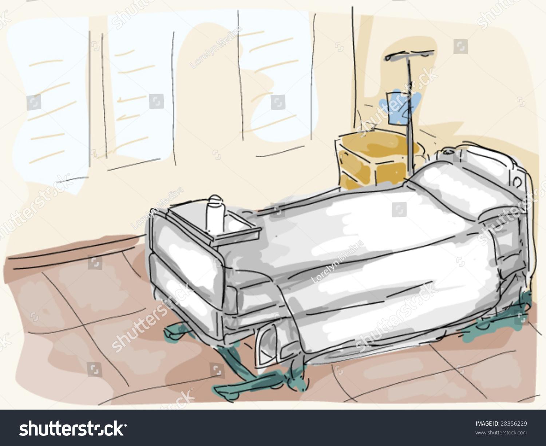 hospital room vector stock vector 28356229 shutterstock
