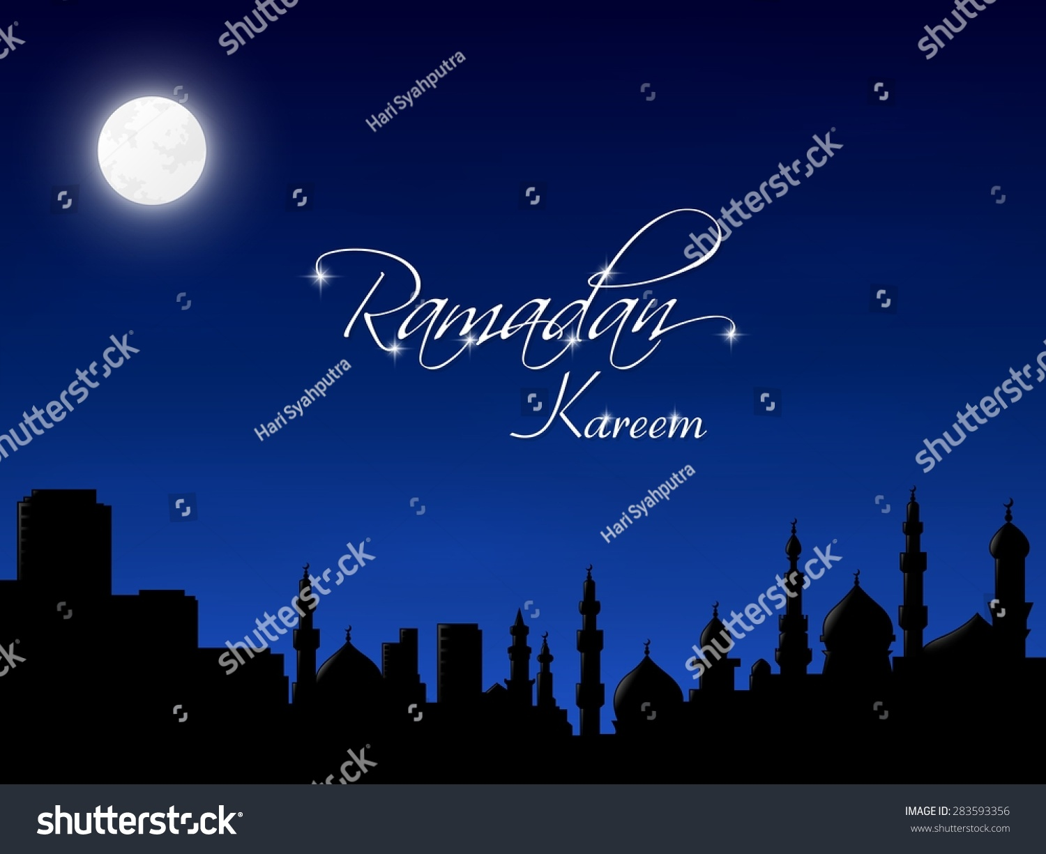 Top Wallpaper Night Abstract - stock-vector-islamic-wallpaper-abstract-background-template-theme-night-blue-god-mosque-residence-283593356  Snapshot.jpg