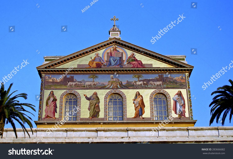 Italy Rome February 21 St Pauls Stock Photo 283666682 ...