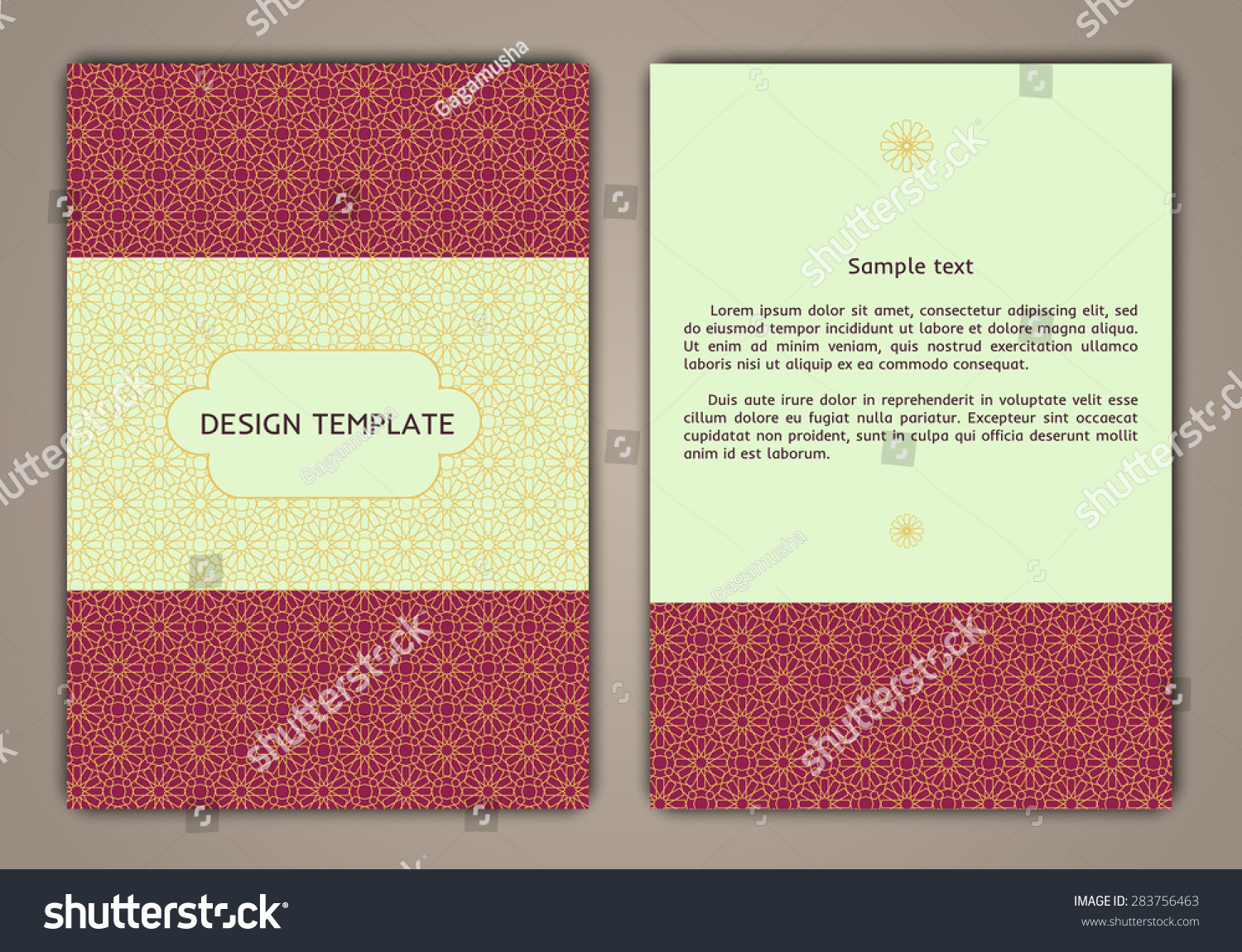 Design Templates Banners Flyers Booklets Can Stock Vector (Royalty ...