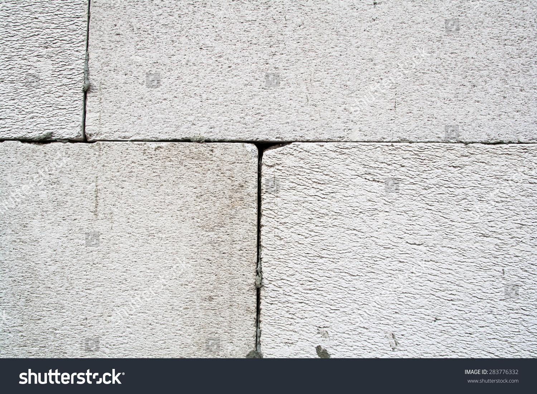 Foamed concrete block stock photo 283776332 shutterstock for Foam concrete blocks