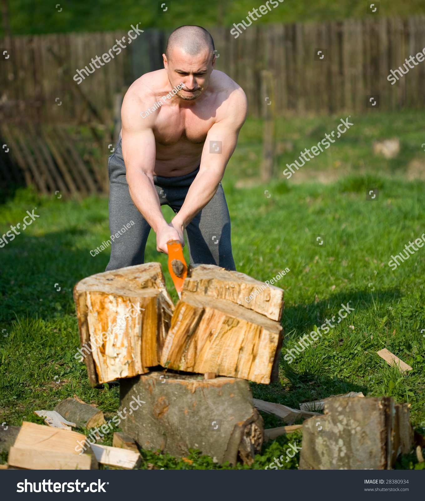 Stock Photo Strong Man