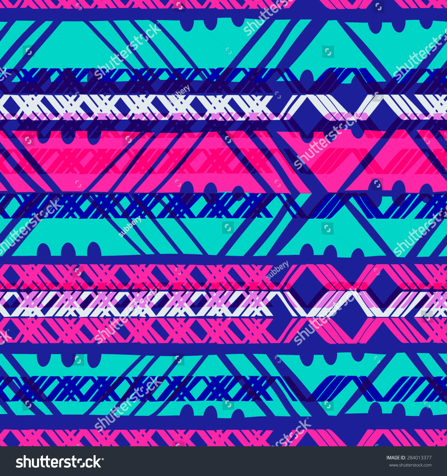 colorful chevron seamless pattern backgroundneon colors