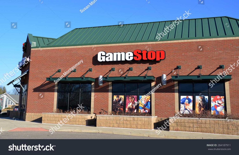 Canton Mi December 29 Gamestop Whose Business Finance Stock Image 284187911
