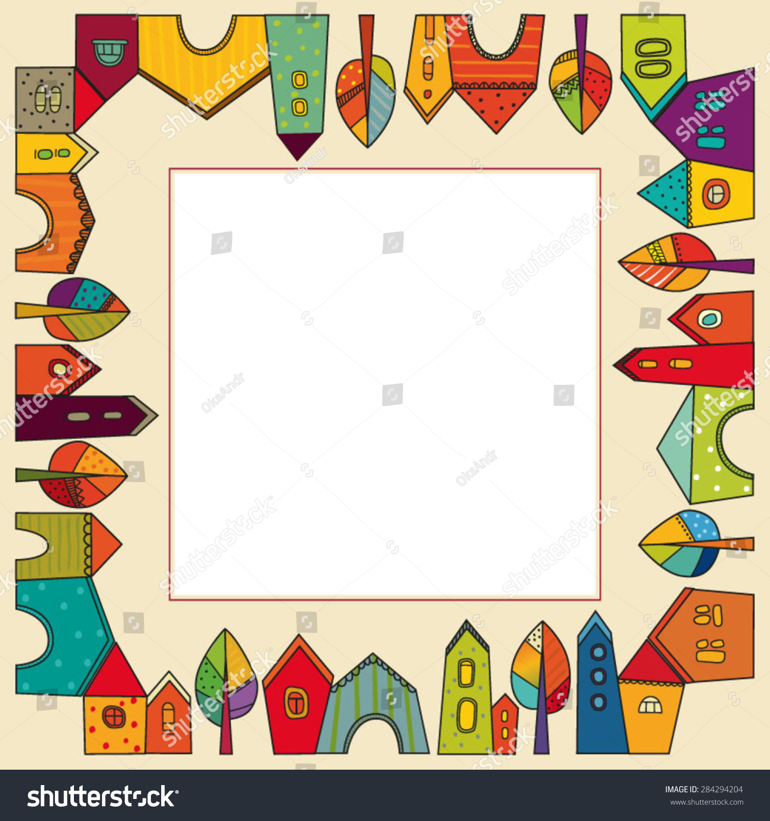 Card Frame Photo Frame Picture Frame Stock Vector 284294204 ...