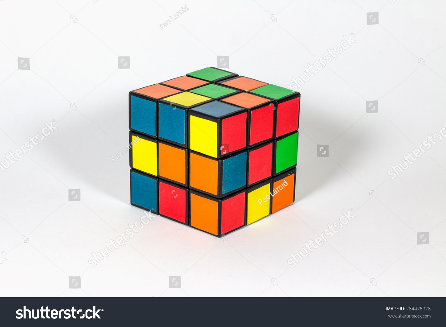 Barcelona spain 04 june 2015 rubiks stock photo 284476028 for Rubik espana