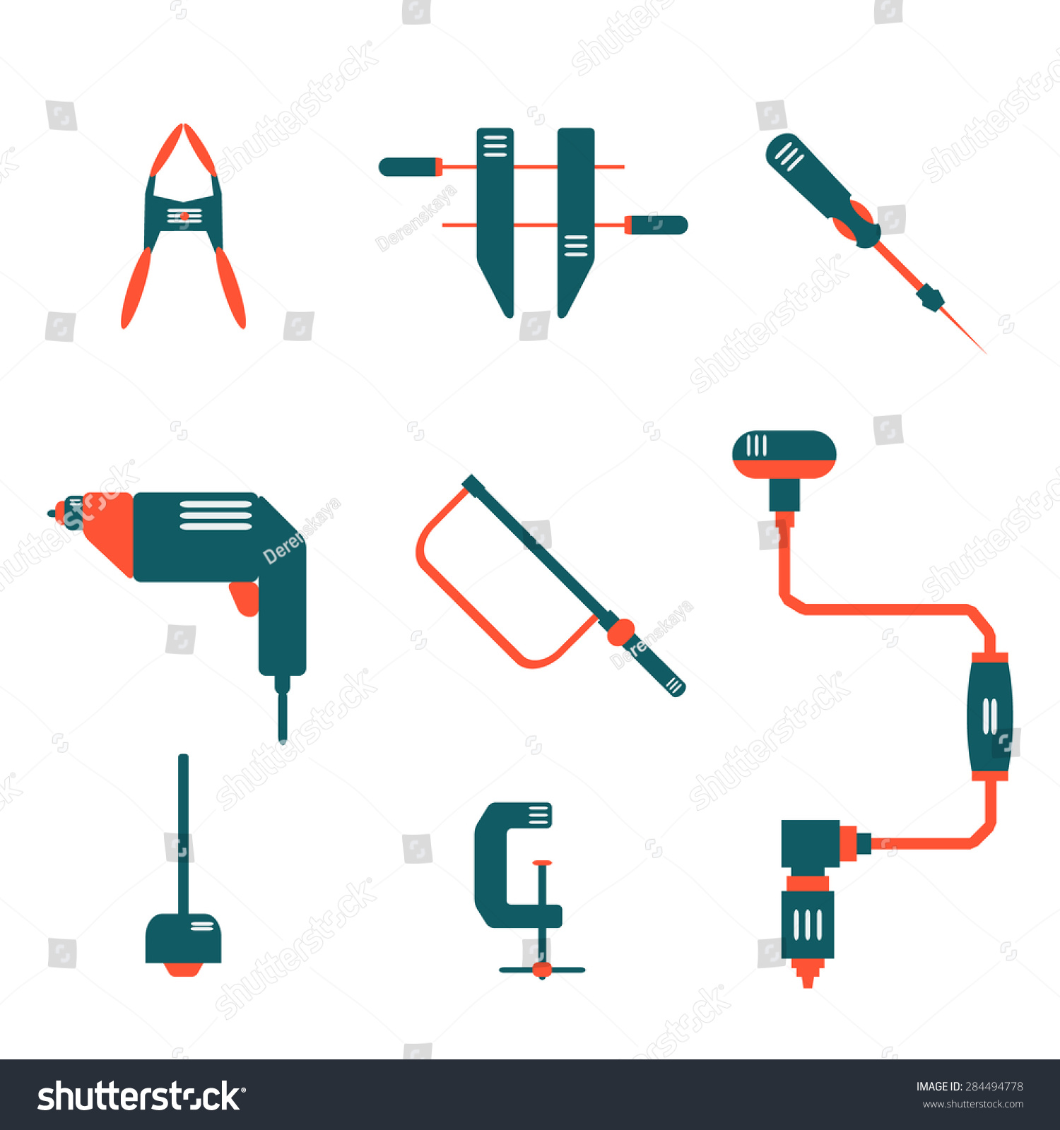 Vector Icon Logo Set Go Home Stock Vector 284494778