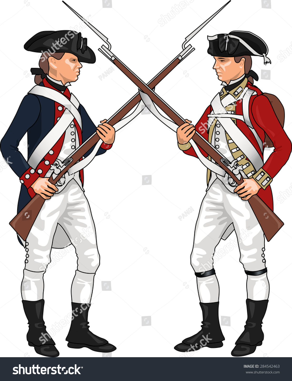 American Revolutionary War British Soldier | www.pixshark ...