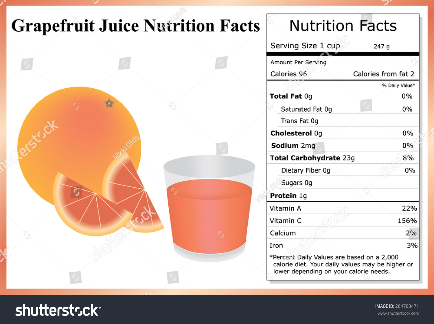 grapefruit juice nutrition facts grapefruit grapefruit stock vector