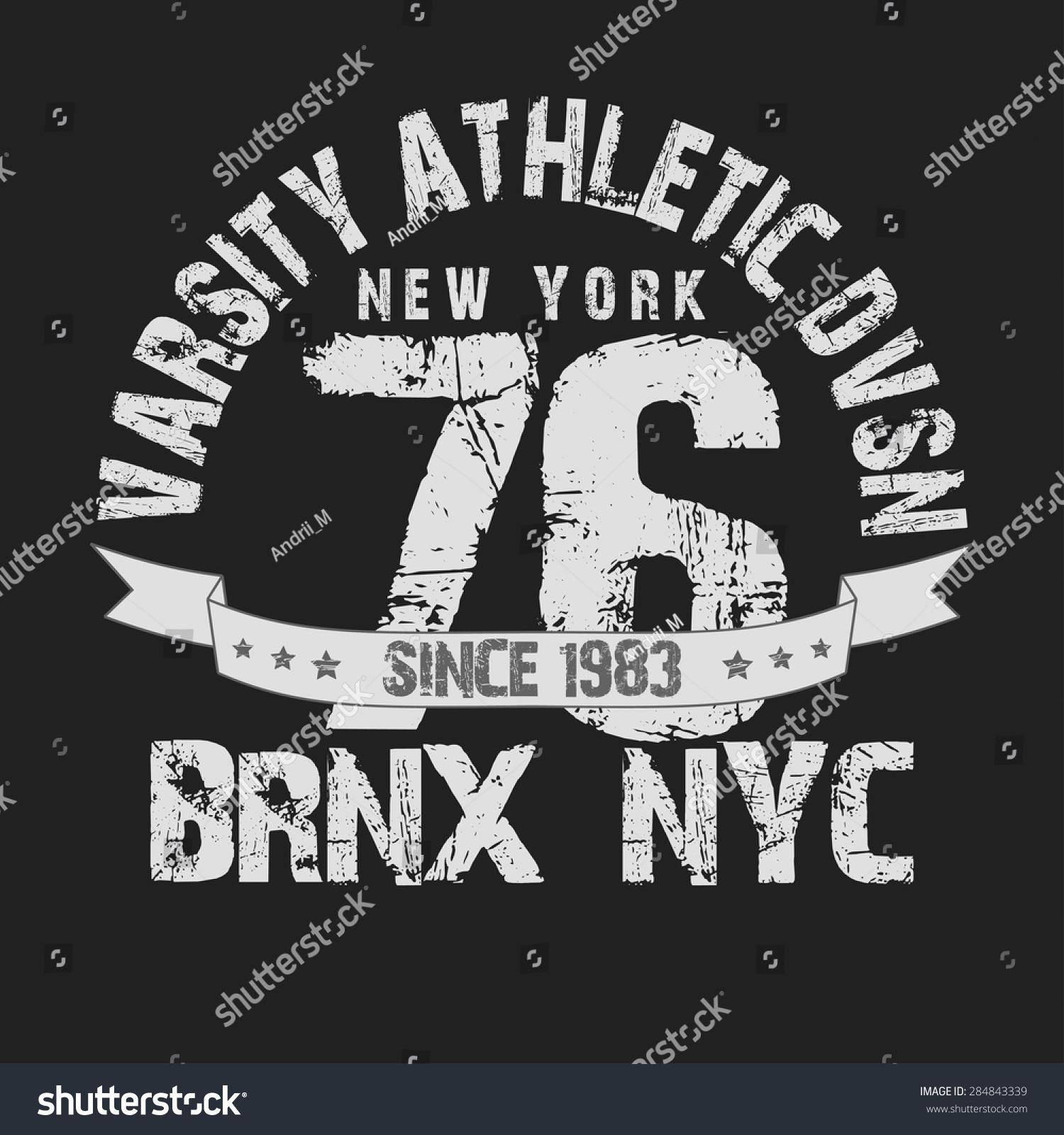 Shirt design nyc - New York City Typography Graphics T Shirt Printing Design Nyc Original Wear