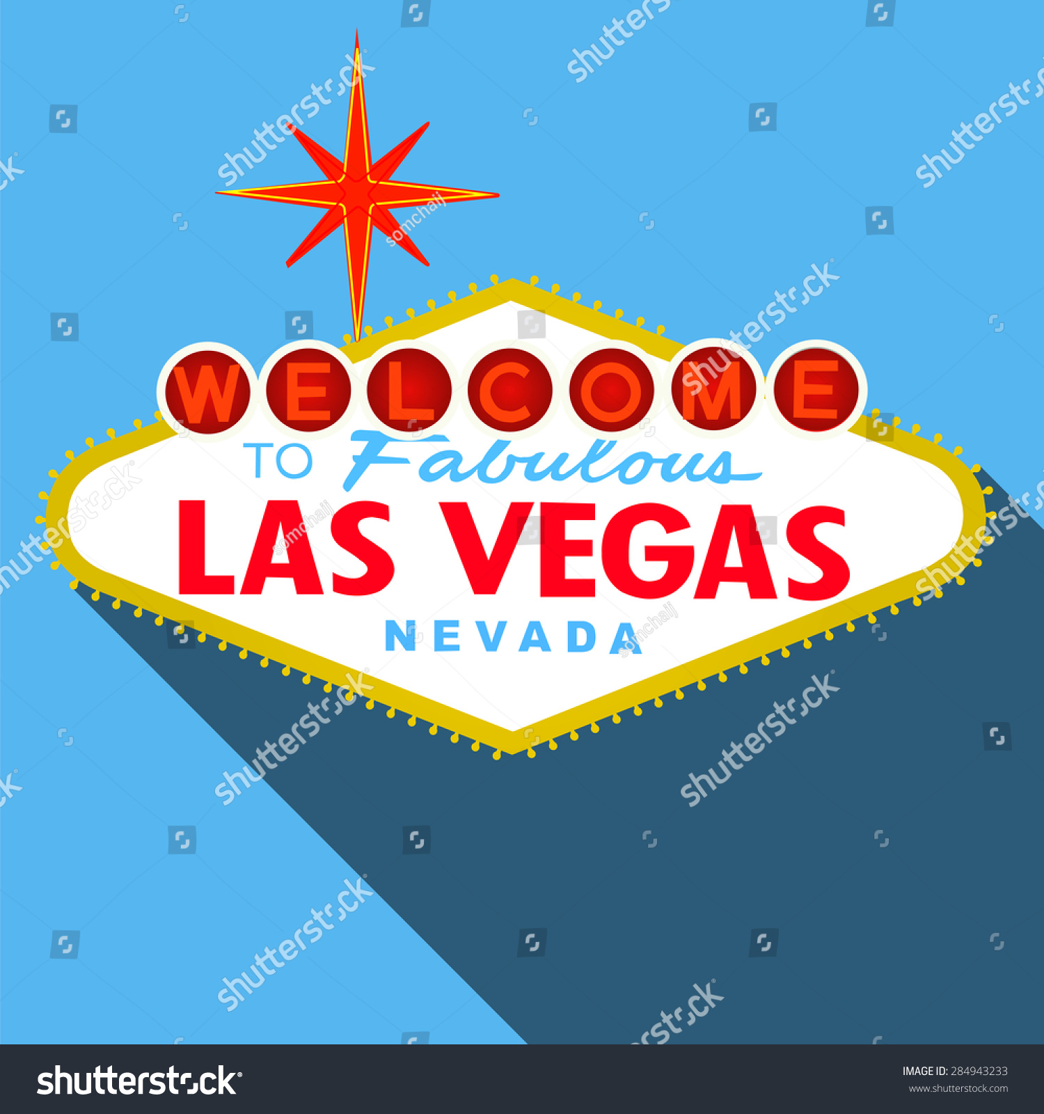 Extraordinary las vegas sign vector free images