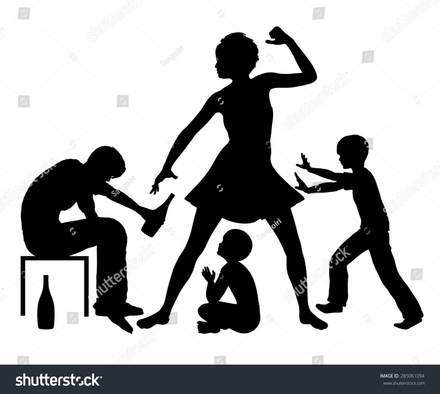 """domestic violence and family abuse Domestic violence and child abuse are truly """"family violence"""" exposures that create and maintain a vicious cycle — exposed children are more likely to become involved in ipv throughout adolescence and adulthood as both victims and perpetrators."""