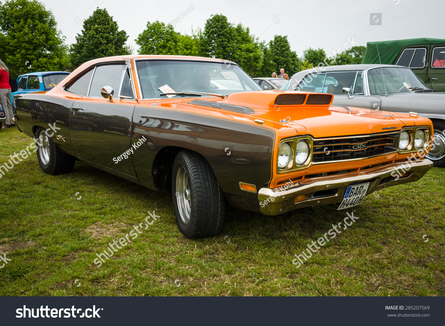 Paaren Im Glien Germany May 23 Stock Photo Edit Now 285207569 1960 Plymouth Road Runner Gtx 2015 Muscle Car