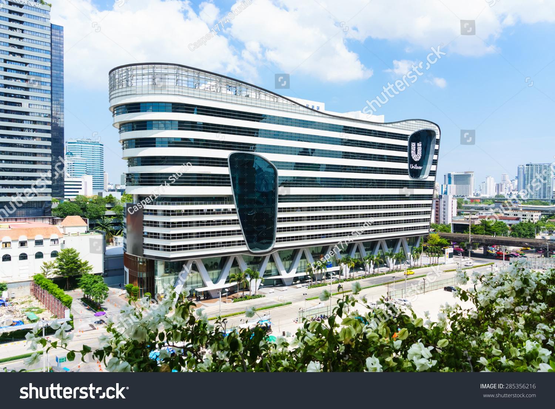 unilever main office. bangkok, thailand - may 31, 2015: unilever house head office building. main