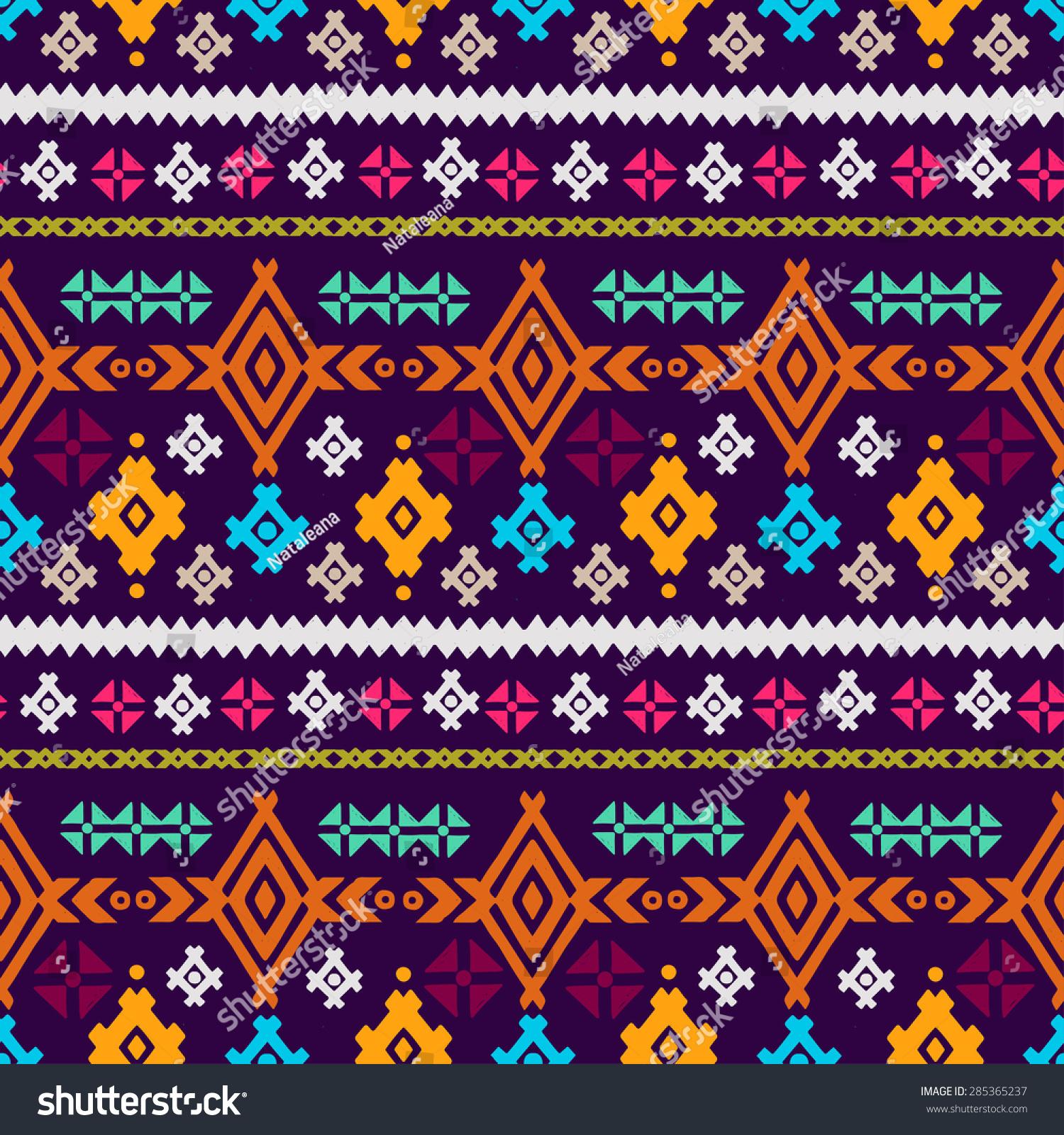 colorful tribal wallpaper design joy studio design