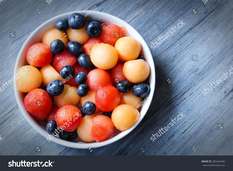 fresh fruit salad fruit slice