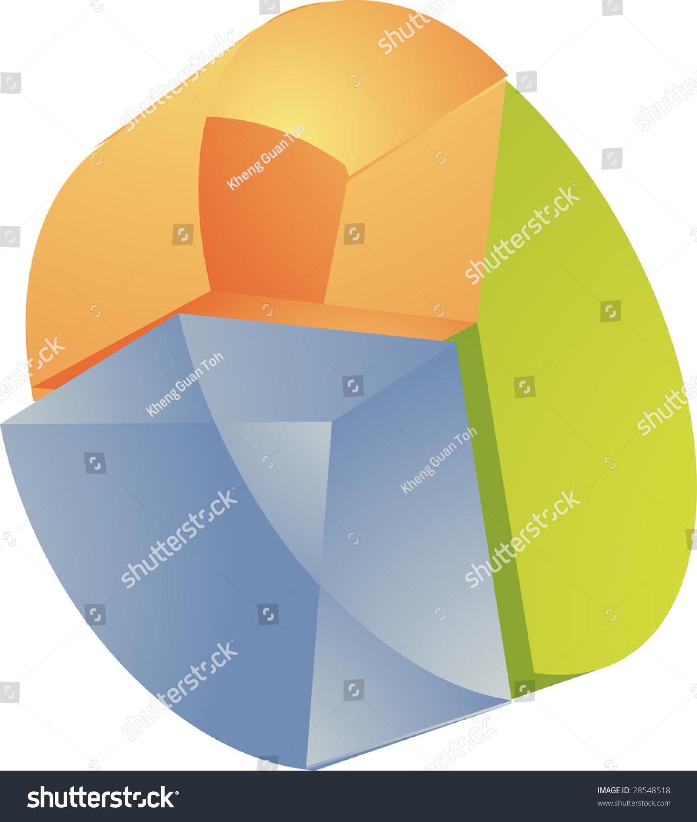 Financial illustration pie chart translucent effect stock financial illustration of pie chart translucent effect nvjuhfo Images