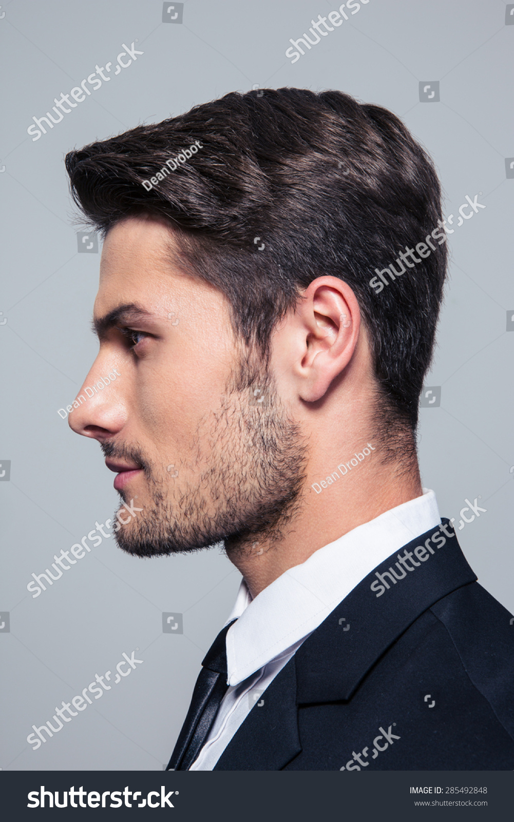 Male Face Model Side View | Male Models Picture