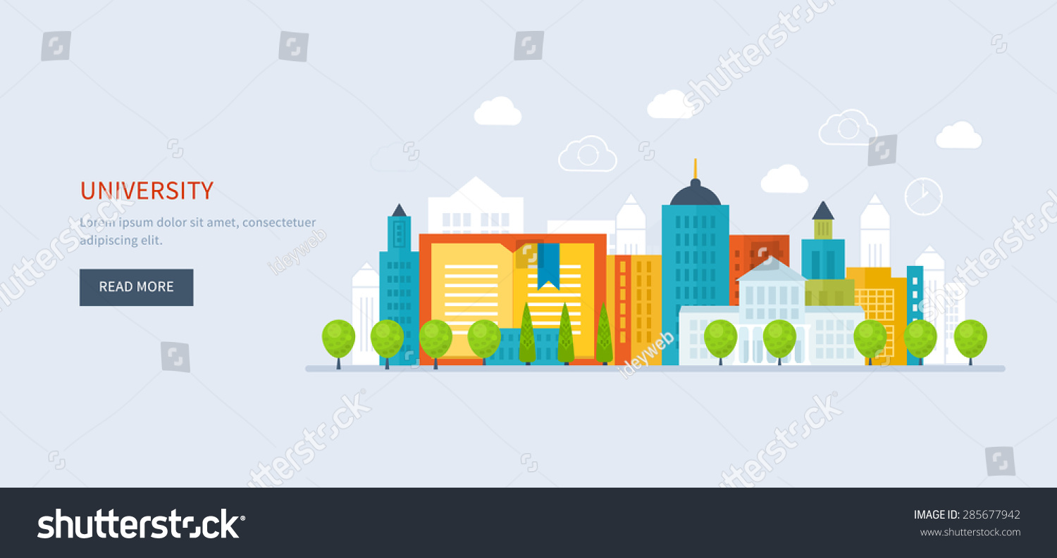 Flat Design Modern Vector Illustration Icons Stock Vector ...