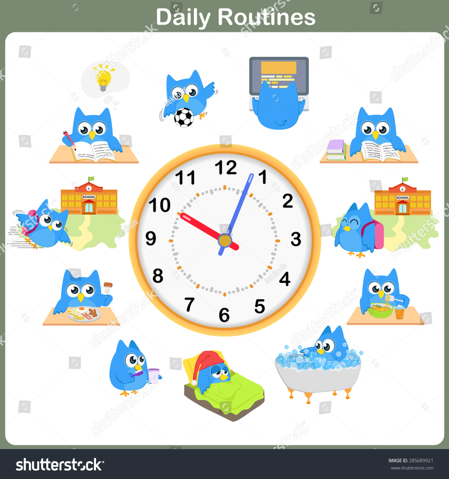 285689921 on Preschool Daily Routine