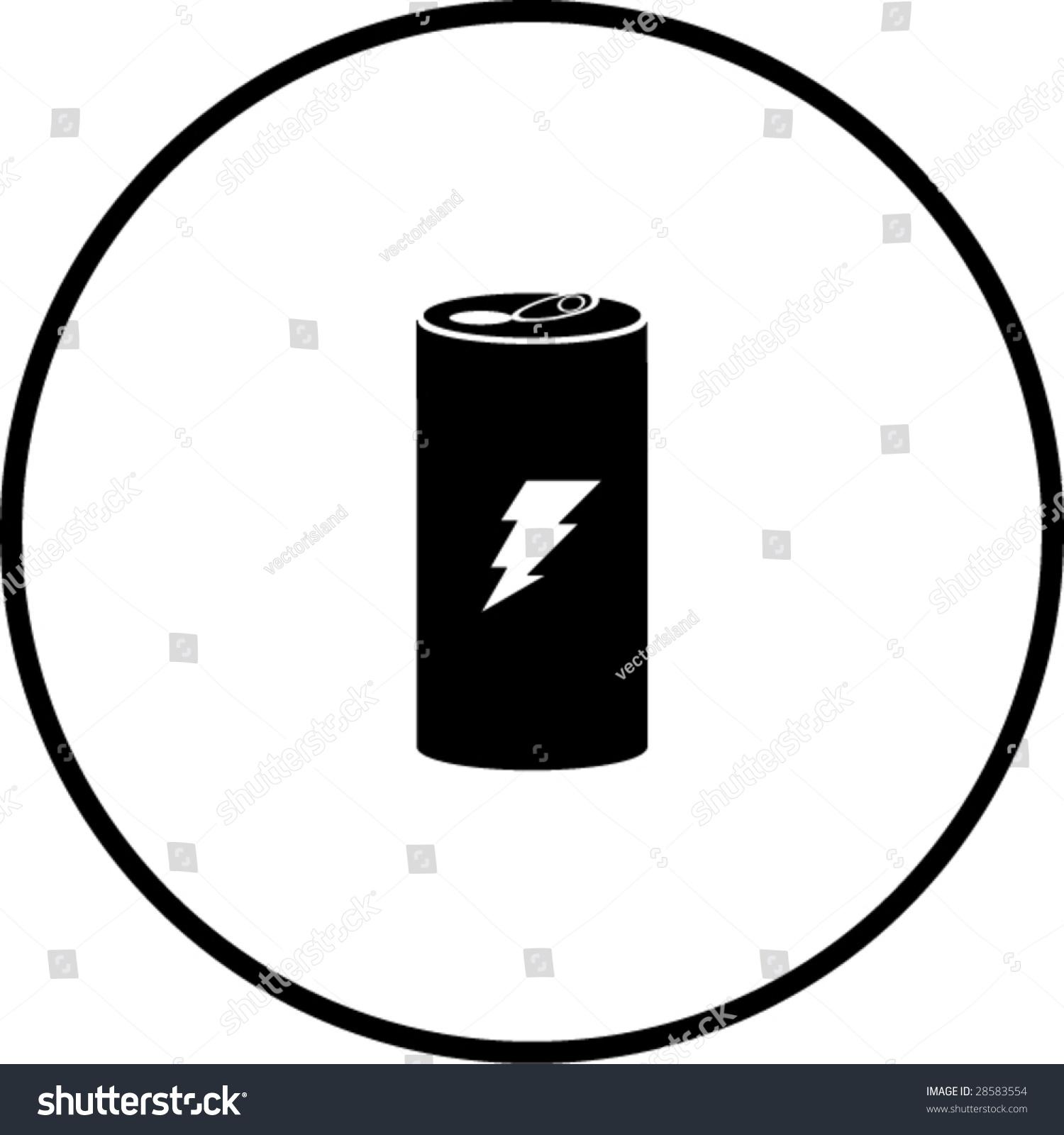 Energy Drink Symbol Stock Vector Illustration 28583554 ...