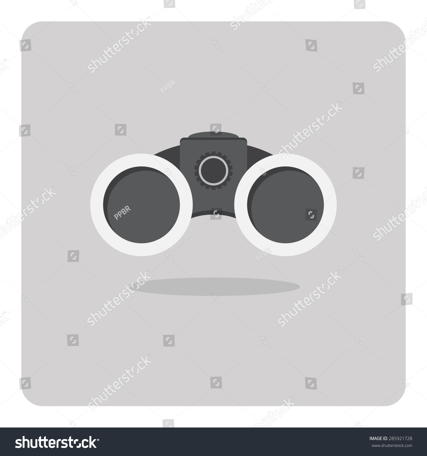 binoculars icon flat - photo #34