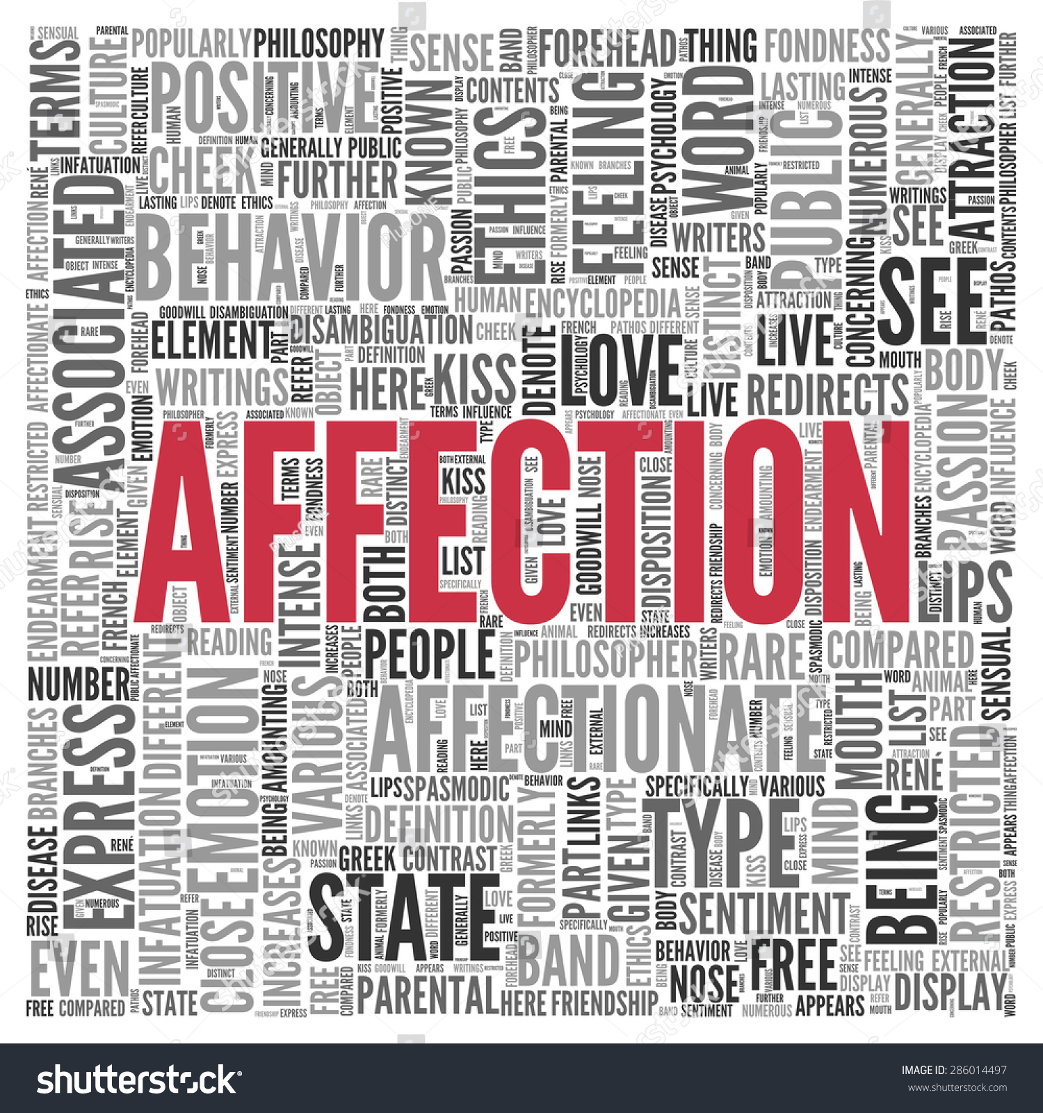H tag background image - Close Up Affection Text At The Center Of Word Tag Cloud On White Background
