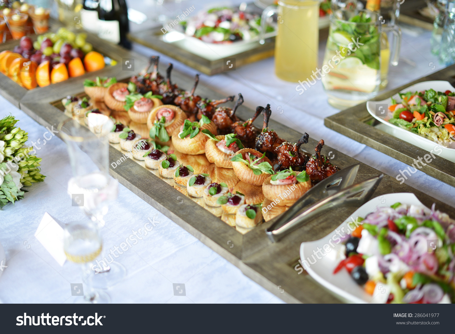 Wedding Reception Place Ready Guests Table Stock Photo Edit Now