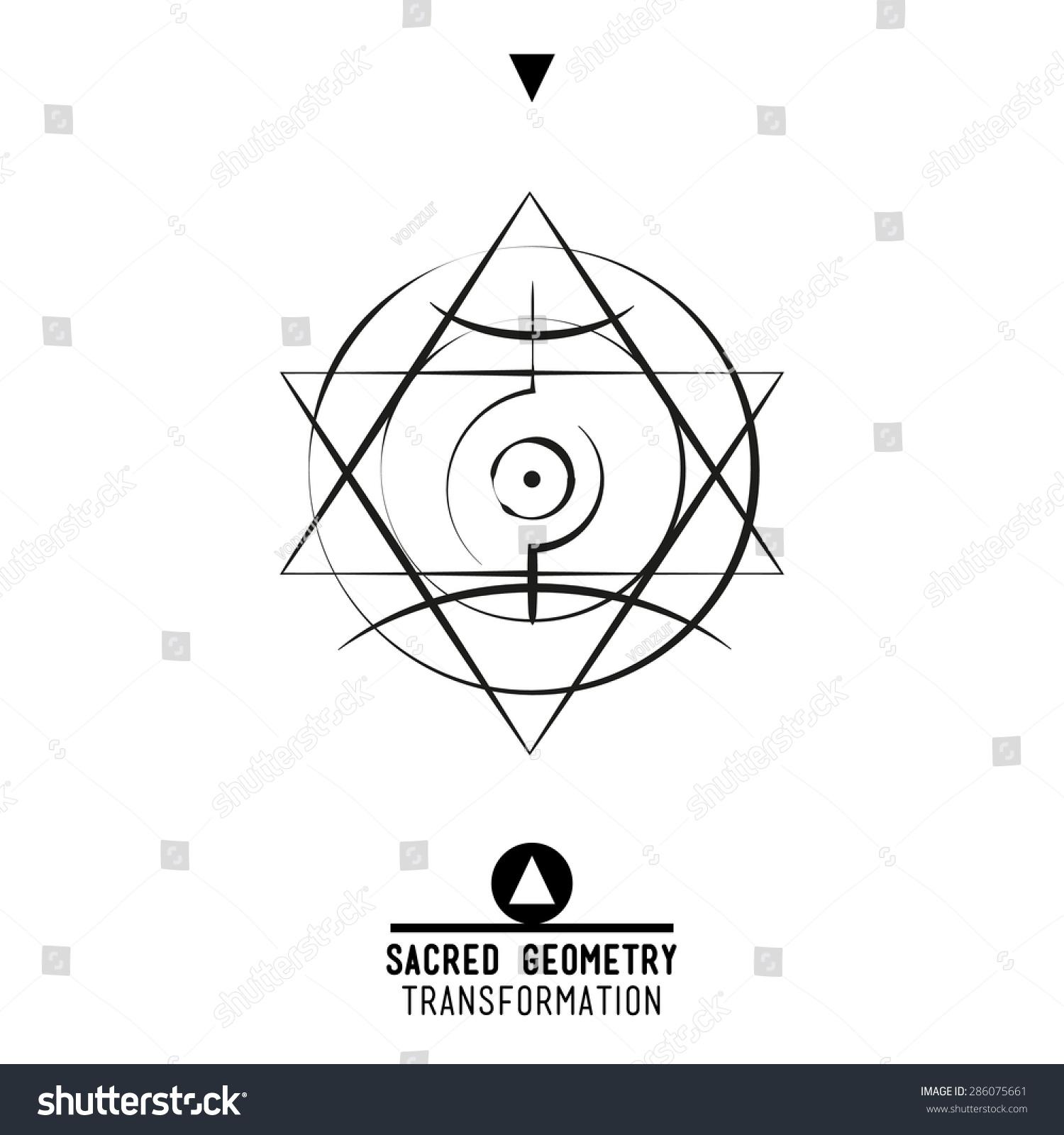 Sacred geometry set trendy vector alchemy stock vector 286075661 sacred geometry set of trendy vector alchemy symbols collection on grunge background religion philosophy biocorpaavc