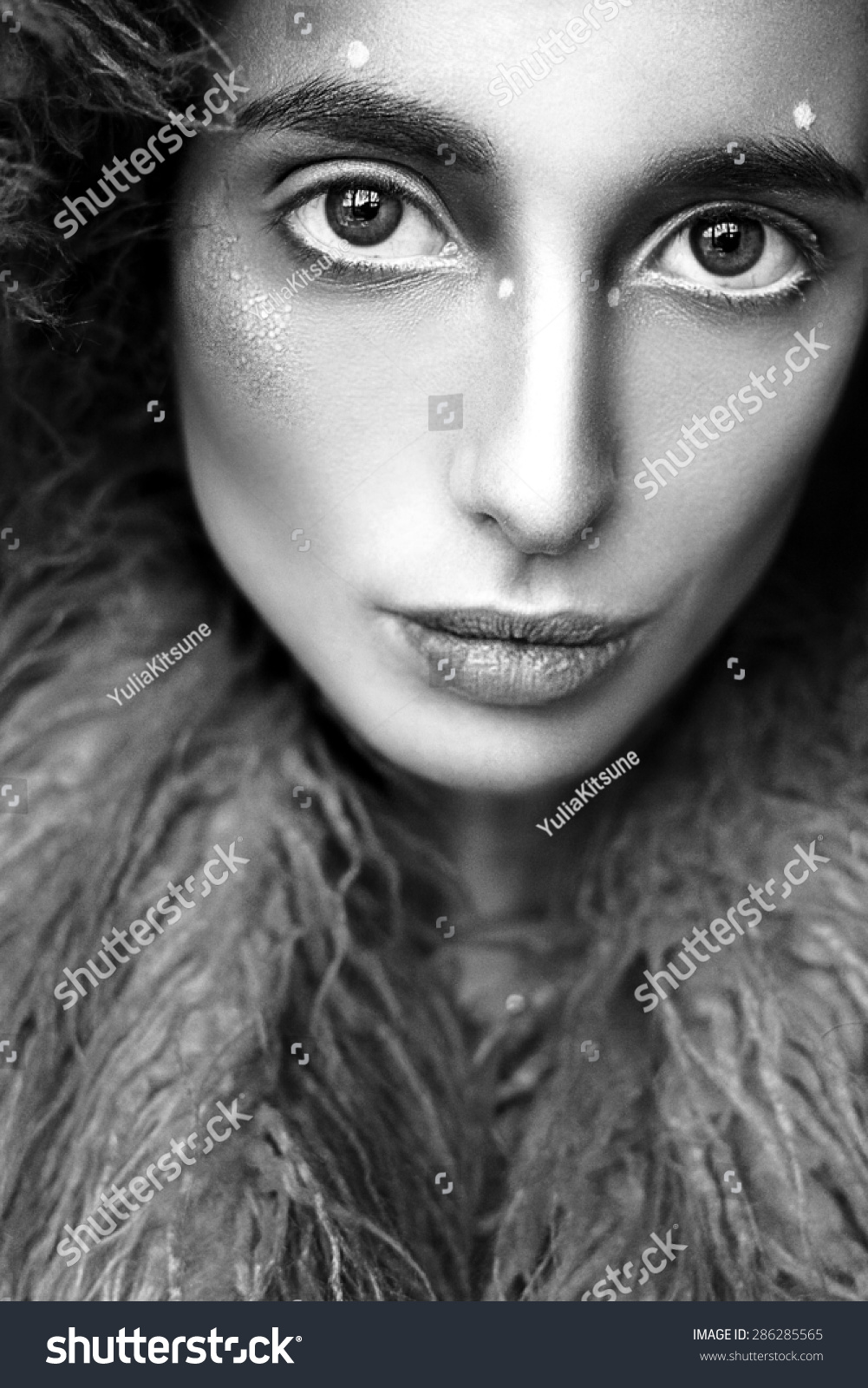 Portrait Beautiful Young Woman Girl Model Stock Photo Edit Now