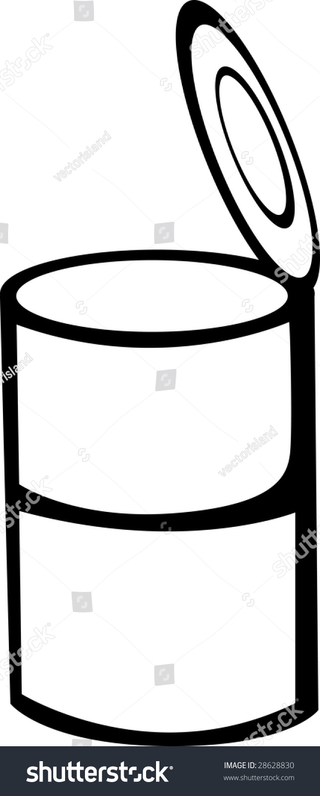 Soup Can Clip Art - dothuytinh