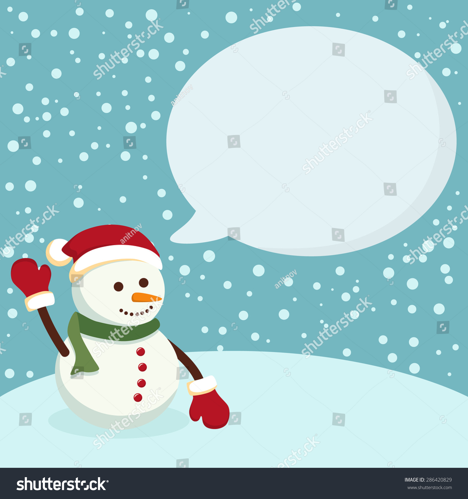Snowman blue notes christmas greeting card stock vector 286420829 snowman blue notes christmas greeting card notes with snowman in blue winter background kristyandbryce Choice Image