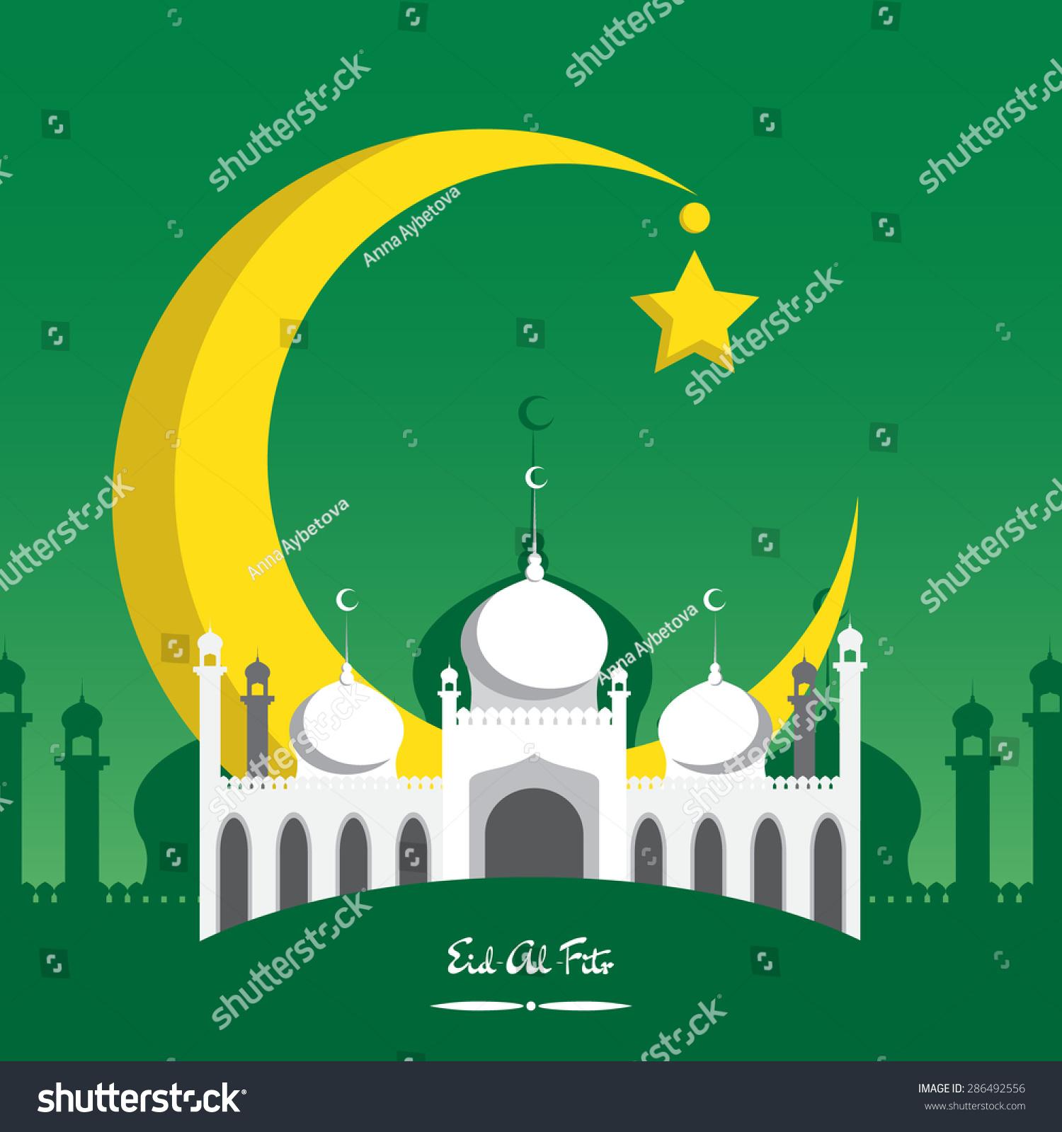 Great Id Festival Eid Al-Fitr Greeting - stock-vector-crescent-moon-for-muslim-community-festival-eid-al-fitr-mubarak-greeting-card-template-286492556  Pic_381069 .jpg