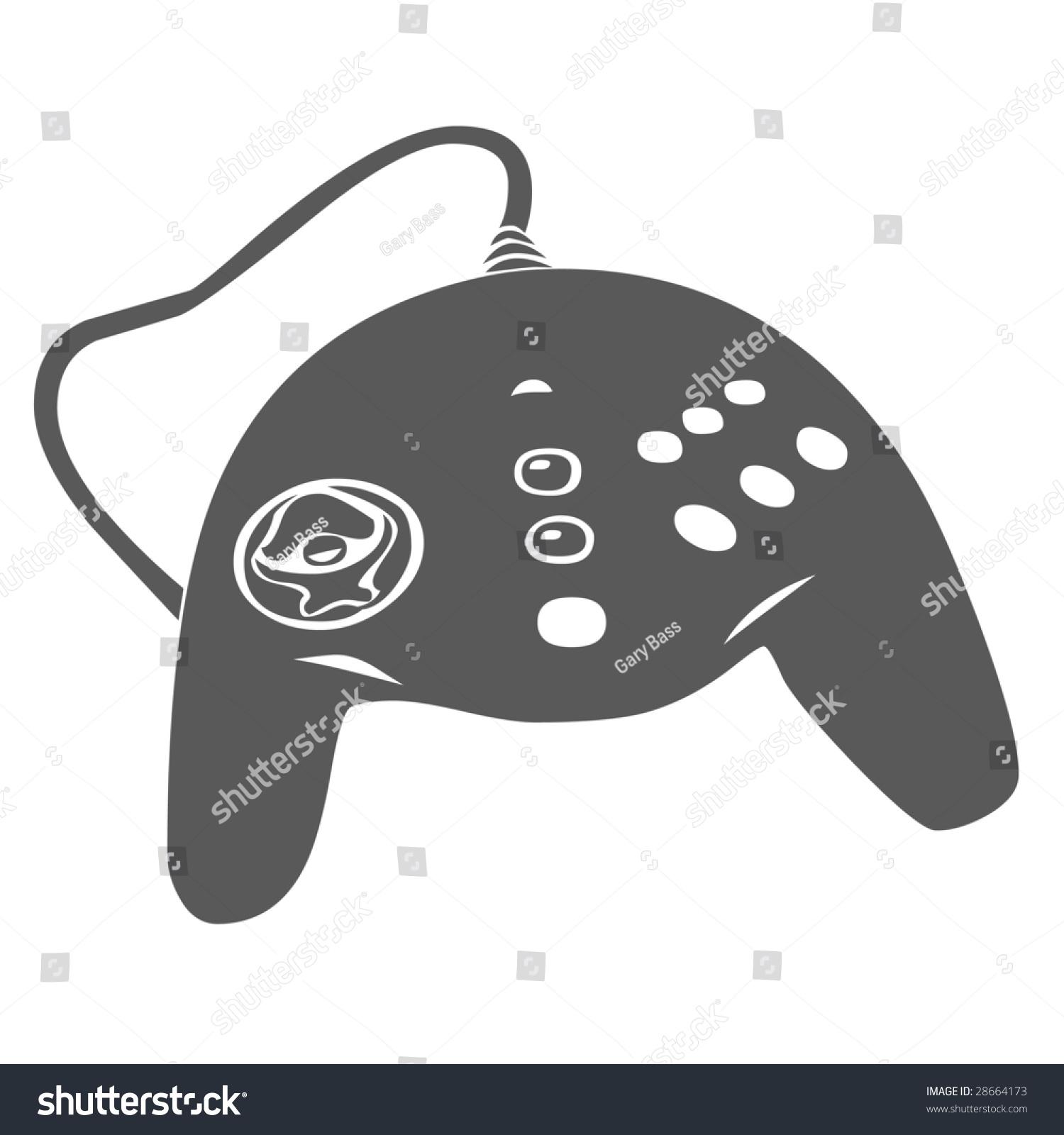 Game Controller Symbol Stock Illustration 28664173 Shutterstock