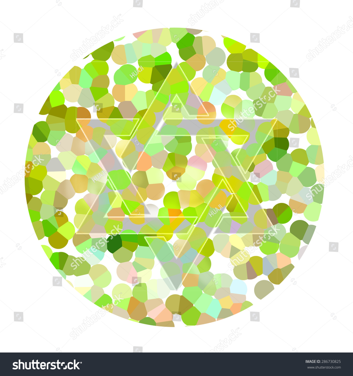 Modern Color Blindness Number Test Crest - Coloring Page ...