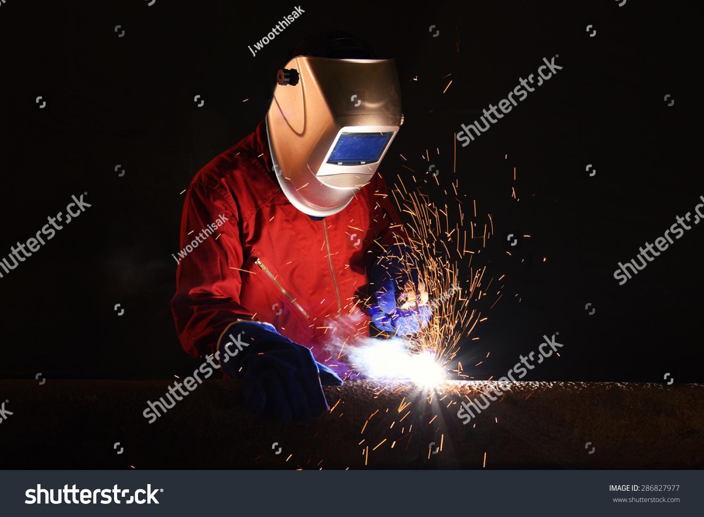Welding Engineer Technology Stock Image 286827977