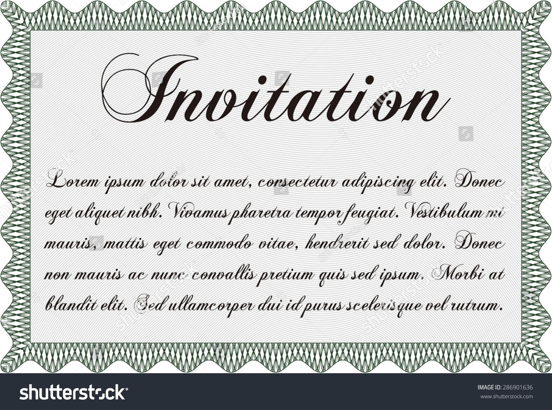 Formal invitation vector illustrationwith background sophisticated formal invitation vector illustrationwith background sophisticated design stopboris Gallery