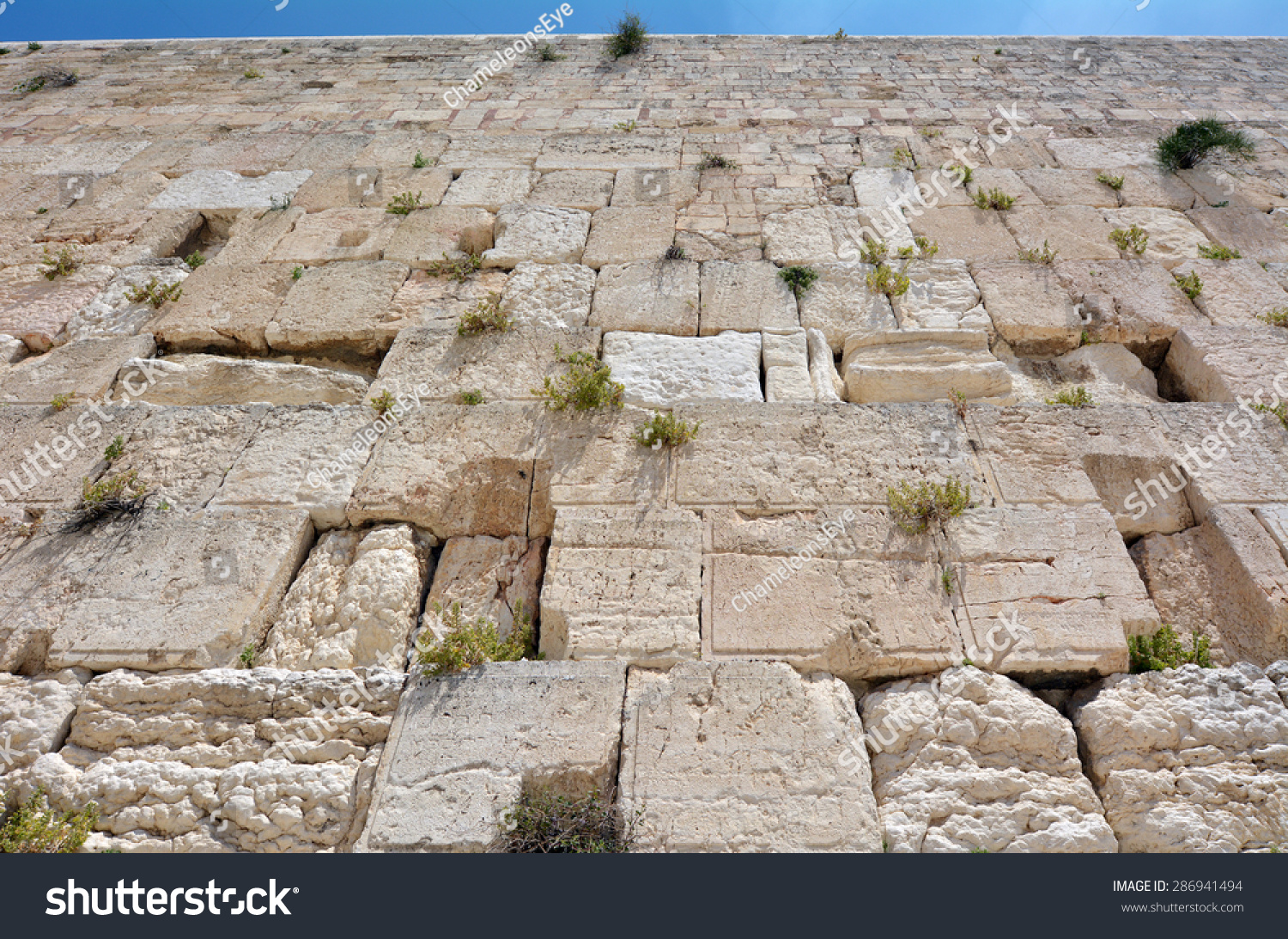 The Western Wall Of The Temple Mount In Jerusalem, Israel ...