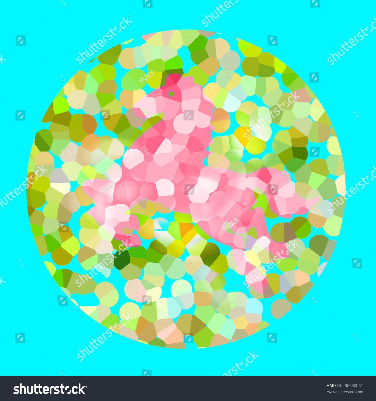 Color Blind Test Horse Stock Illustration 286960061 - Shutterstock