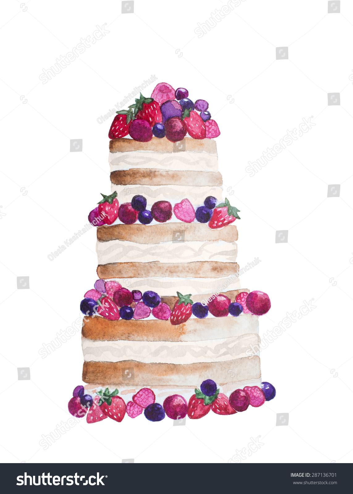 Shutterstock Strawberry Cakes