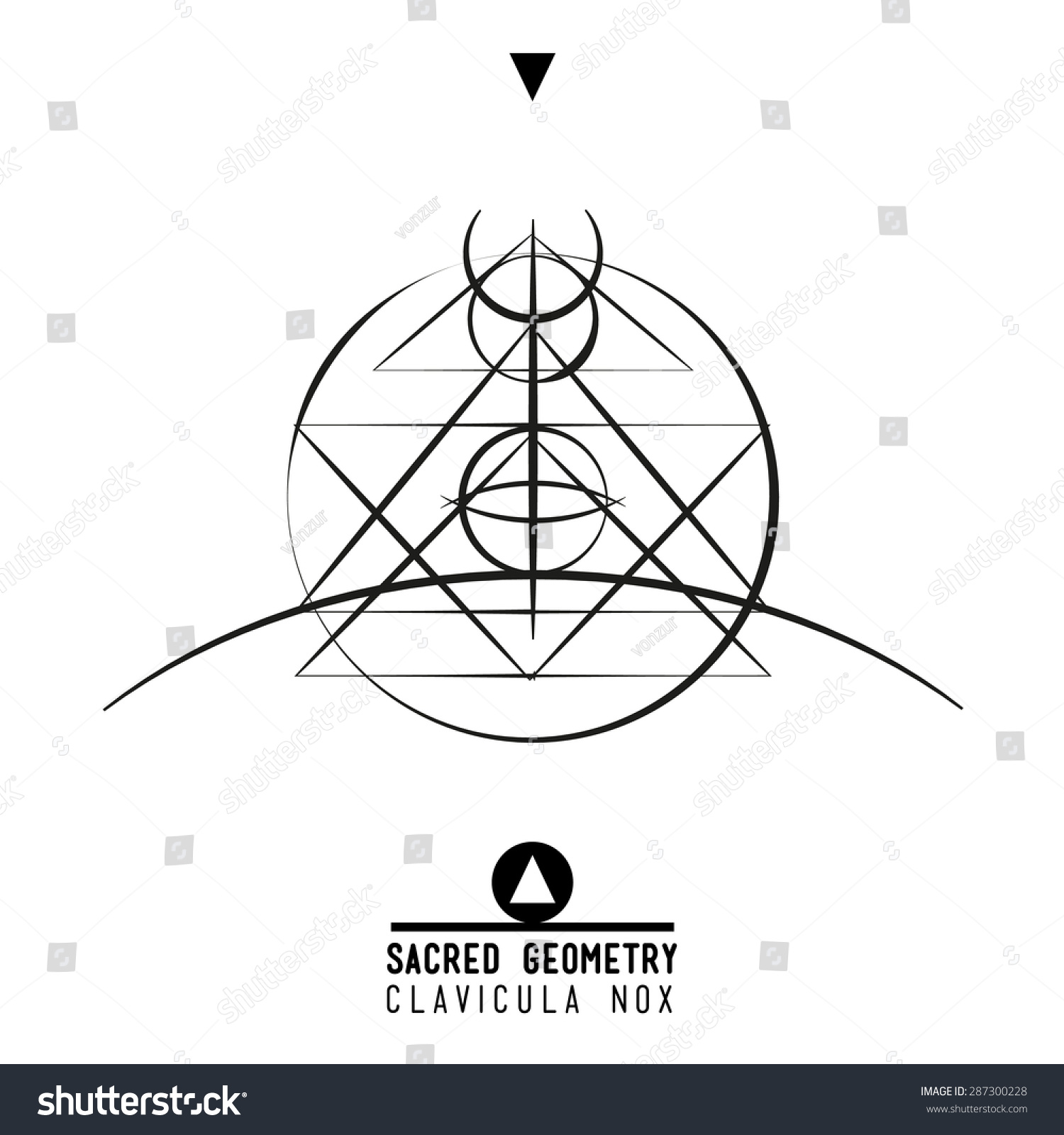 Poster clavicula noxsacred geometry set trendy stock vector sacred geometry set of trendy vector alchemy symbols collection on grunge biocorpaavc