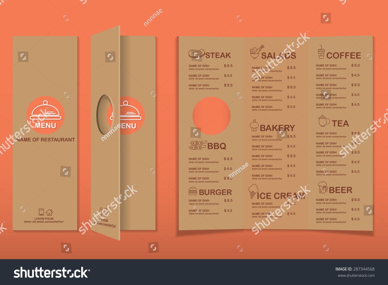 sample menu card 34 download in psd pdf word